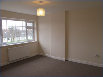 Re-plaster decorations and new carpets