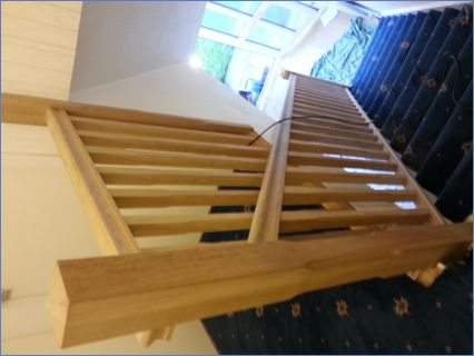 Replacement newel post and spindles in s