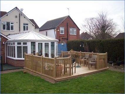 Keith Pym Double Extension Conservatory