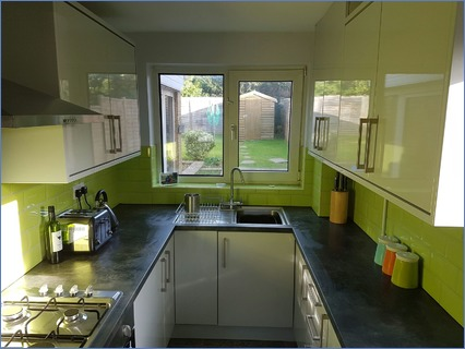 Complete new Kitchen, Tiling, elects etc