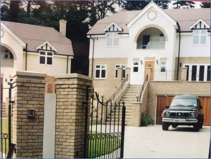 Two houses my dad and I done in sandbank