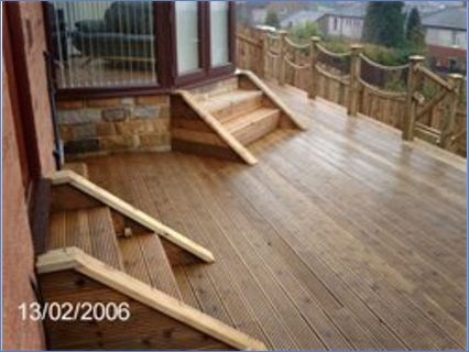 Decking can create a stunning result