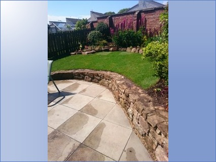 Turfing & Walling West Braes Ave Crail