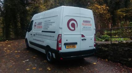 One of our vans