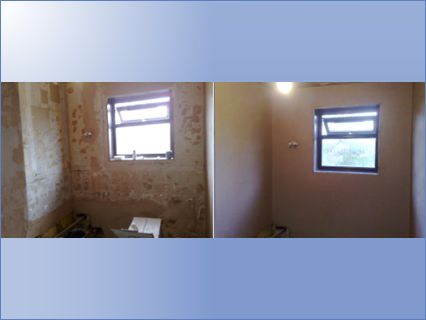 Before and after Bathroom in Thundersley