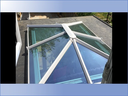 Roof Lantern With Rubberbond Roof