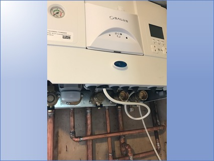 Worcester 30i erp Combi boiler with wire