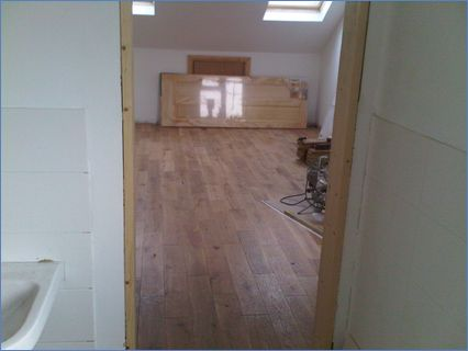 flooring we laid for a client
