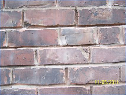before repointing