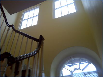 internal veiw and stairs