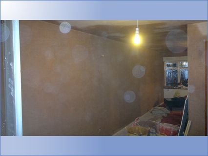 Walls Skimed to a high Finish