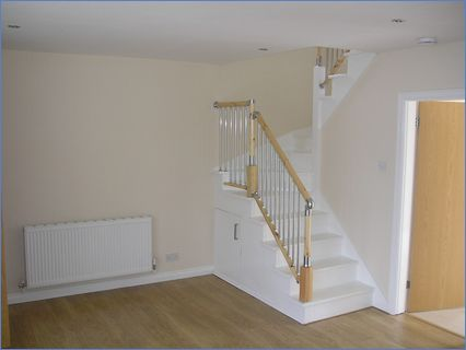 Staircase - Living Room