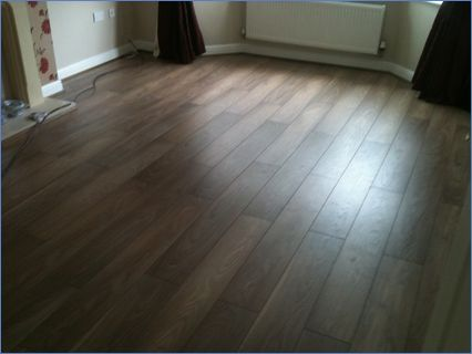 Napoli oak laminate floor we fitted in t