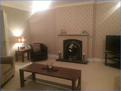 feature wallpaper and painting