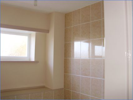 After bathroom was finished