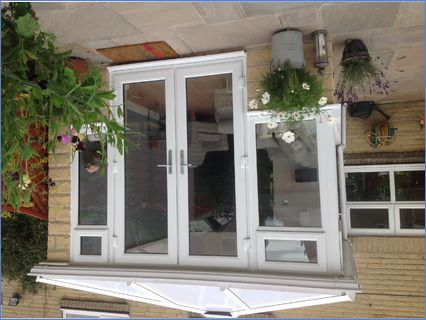 Full height wall conservatory
