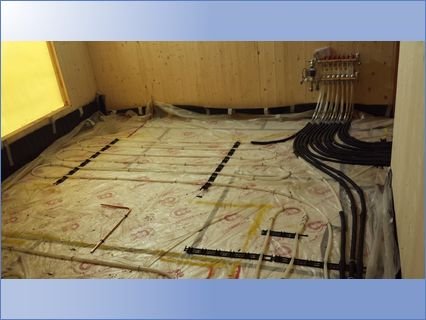 underfloor heating E14