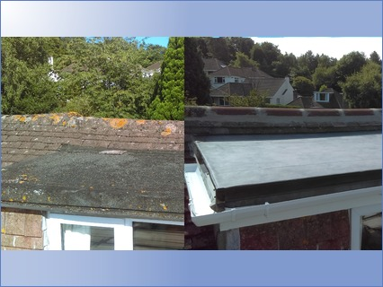 Before & After Flat Roof
