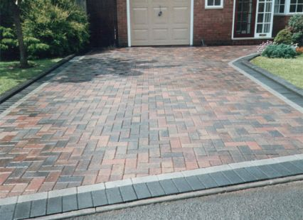 Block paved driveway in chorley.