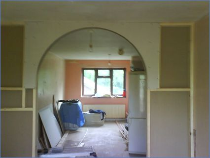 creating an archway