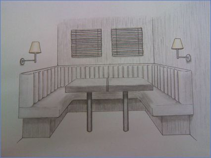 Caravan Lounge Freehand