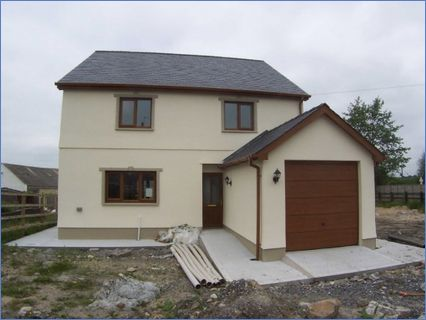 New Build 4 Bed House with garage