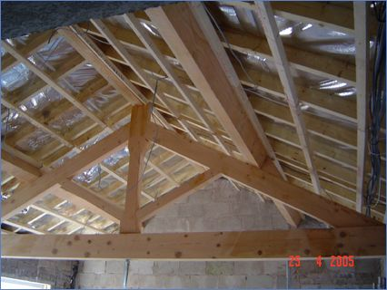 roof beam / skylight / batter