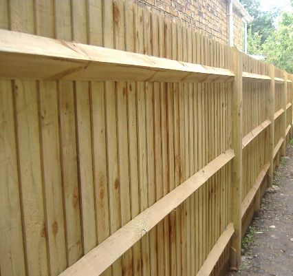 All types of fencing installed by us