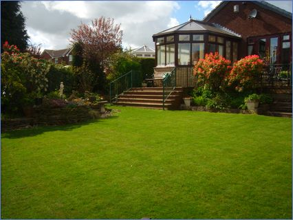 Garden Maintained by Lawn Life in Bolton