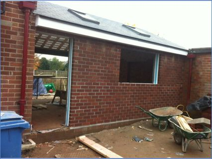 New build carried out by our bricklaying