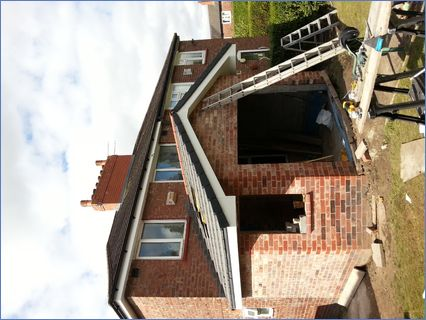 Single story rear extension